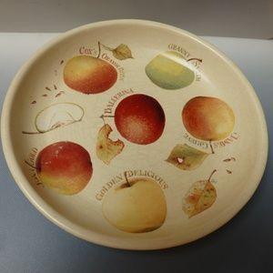 apple server deep dish  10in across